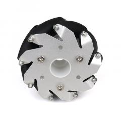 MohitEnterprises | Aluminum Mecanum Wheels (Bearing Type Rollers) Right | 100Mm