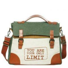 ASPENLEATHER Melange Satchel Bag
