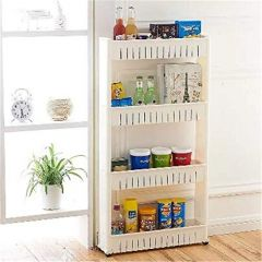 ANJA Multipurpose Rack ShelfSpace Saving Storage Organizer4 Layer