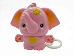 Cradle Hanging Elephant Music Bell Toy For Babies, Hanging Toys For Infants (Pack Of 1)