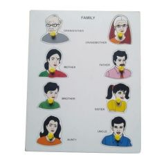 Family Puzzle for Learning Kids (Pack Of 1)