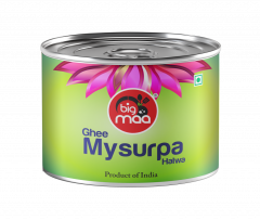 Big Maa Ready To Eat Indian Sweets Pure Ghee Mysurpa Good Taste (150 G) (Pack of 1)