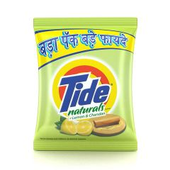 Tide Naturals Detergent Bring you Brilliant Whiteness on Your Clothes Washing Powder 1 kg (Lemon and Chandan)