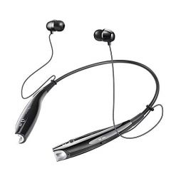 HBS 730 In Ear Imported High Bass Noise Cancellation Wireless Neckband with Mic