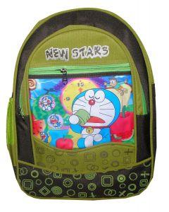 BAGO New Stars Doraemon School Bag For Boy's & Kid's (Multi-Color) (Pack of 1)