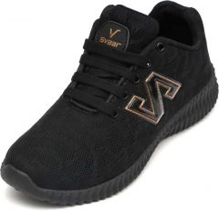 Walking Shoes For Men - Black/Gold
