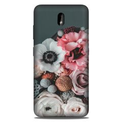 AGGARMENTS Nokia 3.2 Hard Plastic 3D Printed for Stylish Designer Printed Back Cover for Girls & Boys