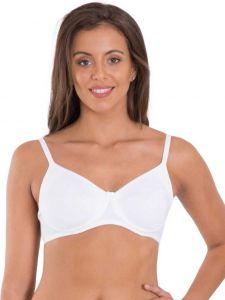 JOCKEY T-Shirt Non-Padded Regular Bra For Women's (White) (Pack of 1)