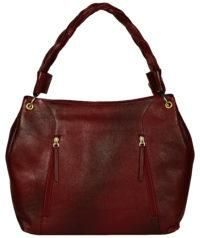 Women's Hand bag Burgundy Color