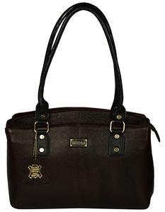 Women's Dark Brown Leather Bag