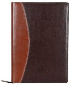 Toss Faux Leather Document & Files Folder With Zipper Mechanism (Pack Of 1)