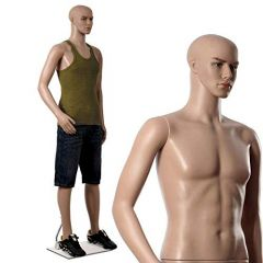 Male Statue for Showroom Straight Full Body Mannequin Display Dummy (Pack of 1)