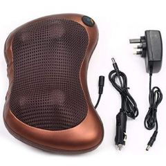 Body Electronic Massage Pillow Neck Massager Cushion Seat Stress Pain Relief Relax Massage (Pack of 1)