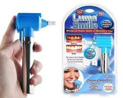 Luma Smile Tooth Polisher, Cleaner, Whitener and Tooth Stain Remover Product with 5 Rubber Cups and LED Light for Good Smile (Pack of 1)