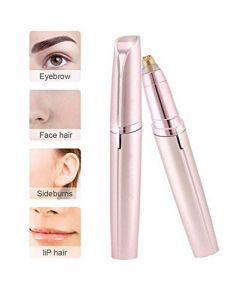 Portable Electric Facial Hair Remover, Eyebrow Trimmer Epilator for Women (Pack of 1)