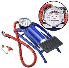 Foot Air Pump Compressor for Motorbike, Cars, Bicycle, Football, Cycle (Pack of 1)