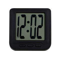 Digital Watch with Magnet Holder & LED Date and Time Flexible Back Stand (Black) (Pack of 1)