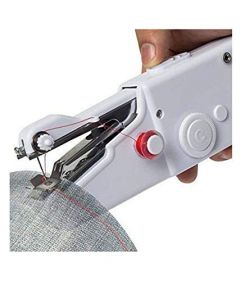 Portable Mini Handheld Tailoring Sewing Machine of Lightweight (Pack of 1)