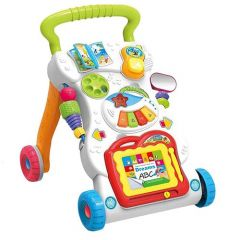 Musical Walker, Push & Pull Toy Play, Stand and Walk for Toddlers & Kids (Pack of 1)
