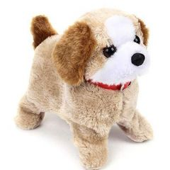 Fantastic Barking, Waging Tail, Walking and Jumping Puppy, Battery Operated Back Flip Jumping Dog with Sound and Music Best Gift for Toddlers and Kids (Pack of 1)