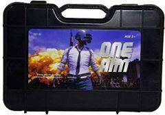 PUBG Plastic Safe Soft Water Bullets Toys Gun Weapon Pistol Gunshot Outdoor Game Toy for Kids (Pack of 1)