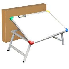 Foldable Bed Study Table Portable with Tablet Slot & Cup Holder (Pack of 1)