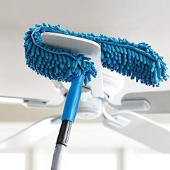 Cleaning Duster Brush with Flexible Feather Microfiber & Extendable Rod (Pack of 1)