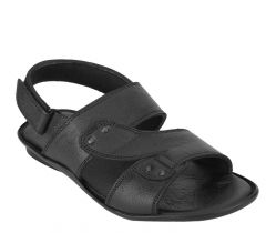 EUGENIE CLUB Men's Stylish & Fashionable Leather Sandals/Slippers