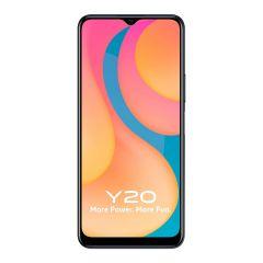 Vivo Y20 Smartphone (Obsidian Black, 4GB RAM, 64GB Storage) | Pack of 1
