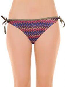 Ocean Club Ladys Zig Zag Bikini Bottom