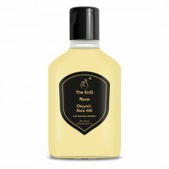 The EnQ Tulsi, Sariva & Shikakai Organic Hair Oil For Hair Fall Control (100 ml) (Pack of 1)