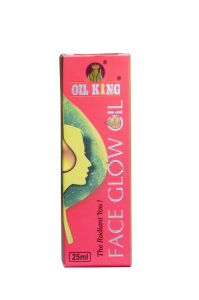 Face Glow Oil King For Heal Dry, Chapped and Cracked Skin (25ML) (Pack of 1)