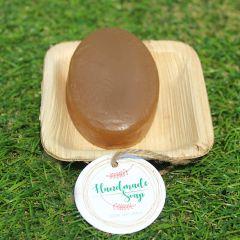 Origin By Devarshi Natural and Handmade Orange Peel Soap - 100gm (Pack of 1)