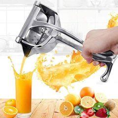 Wazdorf Aluminium Steel Heavy Duty Handhold Press Fruit Manual Juicer, Fruit juicer Manual juicer Instant juicer Orange juicer, Lemon Squeezer Citrus | Manual Lemon Juicer (Standard) (Pack of 1)