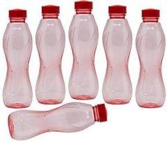 Milton Oscar Water Bottles 1000 ml (Set of 6, Red)