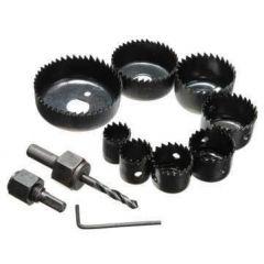 Anja Professional Power Tools Hole Saw Kit (12 Pcs)