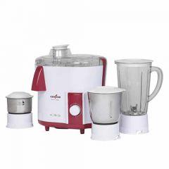 Kenstar NUTRIV Plus 450- Watt Juicer Mixer Grinder with 3 Multipurpose Jars