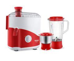 Maharaja Mixer Juicer GrinderWhiteline With 2 Multi-Functional Jars (450W)