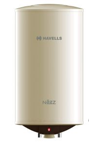 Havells NAZZ 25 Litre Storage Flexi Pipe and Safe Shock Plug Water Heater