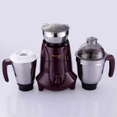 Butterfly Jet 750-Watt Mixer Grinder with 3 Sturdy Stainless Steel Jars