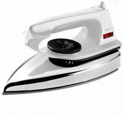 Usha EI 2802 1000-Watt Ultra Lightweight Dry Iron (Pack of 1) (White)