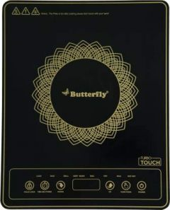 Butterfly Turbo Touch 1800 W Induction Cooktop (Black)