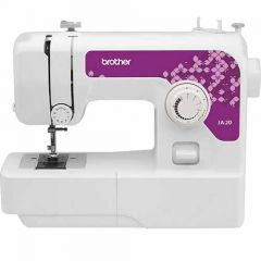 Brother JA20 Electric Sewing Machine for Stitching Clothes (White) (Pack of 1)