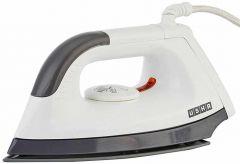 Usha 1000W Dry Iron EI-1602 (White & Grey) (Pack of 1)