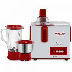 Maharaja Whiteline Royal Juicer Mixer Happiness JX1-155 with Two Versatile Jars