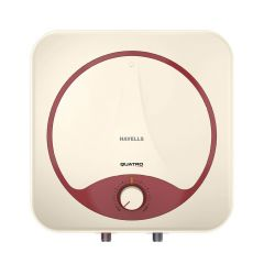 Havells Quatro 25 Litre Storage Water Heater with Whirlflow Technology (Ivory Red)