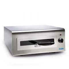 GLEN 5014 Electric Tandoor Grill Stainless Steel Body with Modern Elegant Looks