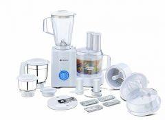 Bajaj MasterChef 3.0 Food Processor 600 Watt with 3 Versatile Jar for Kitchen