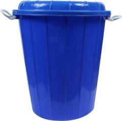 Mayra Plast PLastic Drum 4000 40 L Drum (Blue) (Pack of 1)
