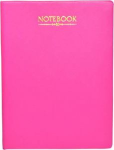 Toss Designer B5 Notebook yes 200 Pages (Pink)